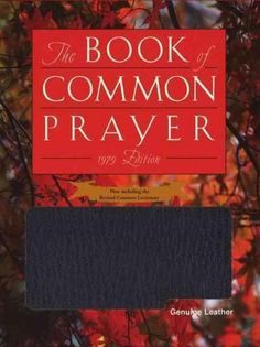 Book of Common Prayer Personal Genuine Leather