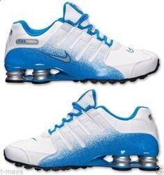 quality design ddd85 cebb0 Nike Shox NZ EU Mens White Obsidian Metallic Silver Black Running Your Sz    eBay Fashion