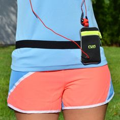 Mini Neoprene Running Pouch Belt for mp3 Player, ID & Gels | Race Belt