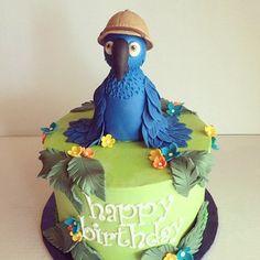 Rio Tropical Cake