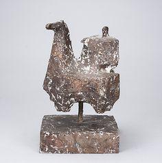 Kari Juva: Ratsastaja, 1966, pronssi, k. 36 cm, edition 1/3 - Bukowskis Market 9/2014