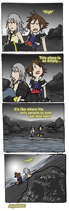 KH II Spoof - Ha, Sora you're so special... xD @Angela Gray Gray Anglin Pinkston