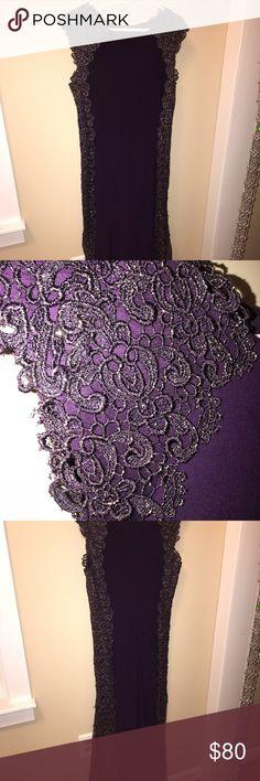 Formal Gown Deep plum formal gown by Xscape. Xscape Dresses