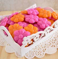 Empório Coralina . sabonetes de margarida . daisies soap