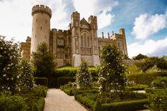 Arundel Castle in West Sussex, England. Photo by jen sketch on Flickr.