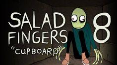 Salad Fingers 8 - Cupboard (+playlist) Rusty Spoon, Salad Fingers, You Have Been Warned, Cupboard, David Firth, Random Stuff, Fun, Youtube, Clothes Stand