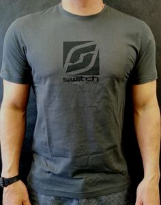 T Shirt - Switch Stock Grey - Apparel - Accessories - Spare Parts Kitesurfing, Spare Parts, Grey, Mens Tops, T Shirt, Stuff To Buy, Awesome, Fun, Accessories
