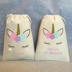 Set of 12 Unicorn Favor Bags with Personalized Thank You Tags, Unicorn Party Favors, Unicorn Party Bags, Unicorn Bag, Unicorn Birthday Party Unicorn Birthday Parties, 3rd Birthday, Unicorn Party Favours, Birthday Cupcakes, Unicorn Cupcakes Toppers, Party Favor Bags, Favor Boxes, Birthday Messages, First Birthdays