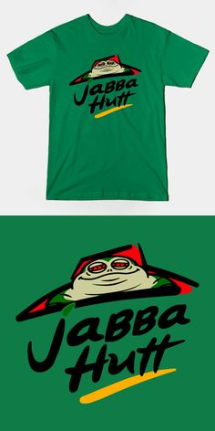 Jabba Hutt Pizza Hut Parody T Shirt. Perfect tee for Star Wars fans who love to eat pizza! Visit http://shirtminion.com/2015/10/jabba-hutt-pizza-hut-parody-t-shirt/