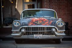 Cadillac vintage paint by Johan Clicks