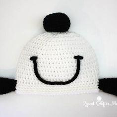 Crochet Snoopy Happy Dance Hat
