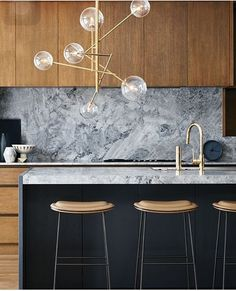 found by hedviggen ⚓️ on pinterest | kitchen | interior design | interior styling | walls | floor | modern | minimal | clean | wood | marble