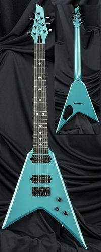 Kiesel Guitars ULTRAV7H Reissue V-Style 7-String Guitar w/ Hipshot Bridge Serial Number 121869