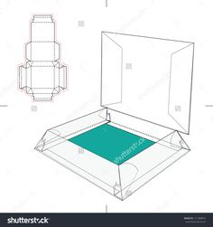 Display Box With Blueprint Layout Icon Stock Vector Illustration 171280814 : Shutterstock