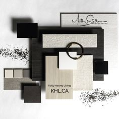 """140 Likes, 3 Comments - Stallone Media (@stallonemedia) on Instagram: """"Absolutely a great pleasure working with @khl.ca last 2 days and their new catalog shots. Details…"""" Mood And Tone, Mood Board Interior, Material Board, Paint Color Palettes, Ethnic Design, Salon Design, Concept Board, Sample Boards, Colour Board"""