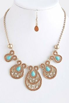 """Coral Beaded Loop Statement Necklace - Coral Beaded And Acrylic Jewel Statement Necklace StarShine Jewelry. $21.50. Length approx 19"""". Beaded loop necklace. Lead compliant. Lobster claw clasp with 3"""" extender"""