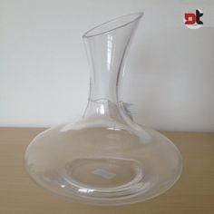 DECANTER OBLIQUO VETRO 1,5 L ampolla brocca ossigenazione vino bevande alcoliche