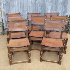 Good Set Of 8 Dining Chairs - Antiques Atlas