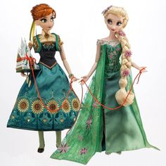 Elsa & Anna Frozen Fever Limited Edition Doll - Global LE 5000 (1000 in Europe) - to be released 3rd November 2015