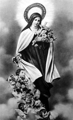 Jésus, mon seul Amour, au pied de ton Calvaire Que j'aime chaque soir à te jeter des fleurs En effeuillant pour toi la rose printanière Je voudrais essuyer tes pleurs Jeter des fleurs, c'est t'offrir en prémices Les plus légers soupirs, les plus grandes douleurs