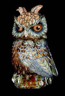 Owl 5 - David Burnham Smith - Master Ceramic Artist