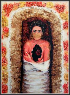Frida Kahlo - Homage_06 (National Museum in Sabac, Serbia) | Flickr - Photo Sharing!
