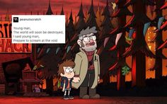 This is such a great description of Ford and Dipper's relationship.