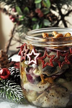 Candle Jars, Candles, Fish And Seafood, Moscow Mule Mugs, Menu, Cooking, Tableware, Christmas, Menu Board Design