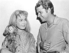 The Wild and the Innocent - Audie and Sandra Dee behind the scenes
