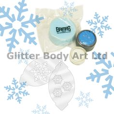 Snowflake Face Paint Kit - Temporary Tattoo Store