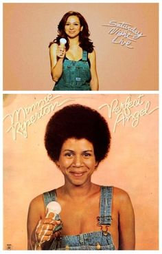 "Maya Rudolph pays tribute to her mother's (the late Minnie Riperton) 1974 ""Perfect Angel"" album cover. (via @Renee Brisk Convergence via Pinterest..."