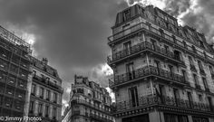 Version noir et blanc : #Paris - Triptyque parisien - #Parisphotos #Architecture