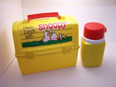 OMG!!!!! my old lunch box from Pre-School. awwwww, sweet memories.