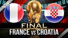 "Infinity Cosmos™ on Twitter: ""Fifa #WorldCupFinal 2018 Champion ??  RT : Croatia  Like : France… "" World Cup Final 2018, Fifa World Cup 2018, World Cup Russia 2018, Iran Football, Football Match, France Vs, Nba Memes, Downtown Disney, Russia"