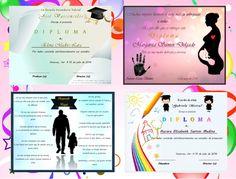 Diplomas de Graduacion para Imprimir Varios