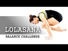 Elena Malova: Balances: Lolasana entrenamiento/tutorial - Dia 1