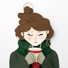 Paper Illustrations - Isabel Talsma - Portfolio