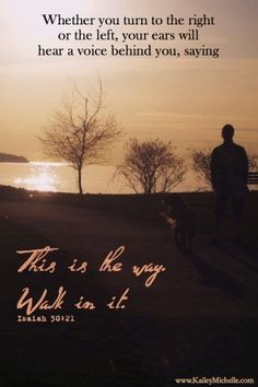 This is the way. Walk in it | Inspirational prints + Free background downloads by Entrepreneur Kailey- Michelle Veenstra  #faith #Jesus #inspiration #sayings #quotes #god #path #sunset #beach #walk #ocean #theway