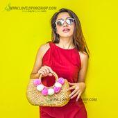 กระเป๋าผักตบ / กระเป๋าผักตบชวา / กระเป๋าสาน ขายส่ง จำหน่ายทั้งปลีกและส่ง // water hyacinth bag// กระเป๋า decoupage [Engine by iGetWeb.com] Basket, Vintage, Style, Fashion, Moda, La Mode, Fasion, Fashion Models, Trendy Fashion