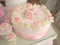 New Shabby Chic Wedding Cake Ana Rosa Ideas Easter Cupcakes, Flower Cupcakes, Fun Cupcakes, Wedding Cupcakes, Wedding Cake Toppers, Shabby Chic Cakes, Cupcake Photography, Short Lace Wedding Dress, Kawaii Dessert