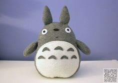 6. #Plush - 9 Totoro DIY #Projects That Are Insanely #Adorable ... → DIY…