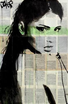 "Saatchi Art Artist LOUI JOVER; Drawing, ""chronicle"" #art"