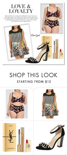 """""""Rosegal # 35"""" by nejrasehicc ❤ liked on Polyvore featuring Yves Saint Laurent"""