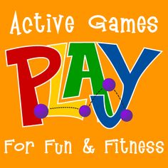 Physical and Cognitive Develipment: Active games for kids! Great for school ideas as well. Pe Activities, Health Activities, Gross Motor Activities, Activity Games, Educational Activities, Physical Activities, Fitness Activities, Fitness Games, Kids Fitness