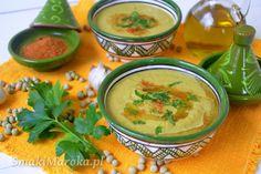 Bissara jelbana - marokańska zupa z suszonego zielonego groszku