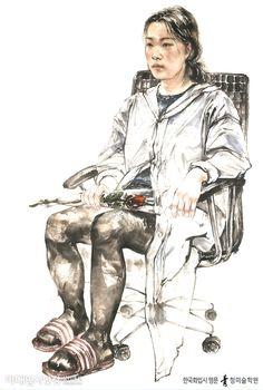 [한국화] 인물화 학생 평소작 - 인물화! 정확한 동세의 관찰과 표현이 무엇보다 중요합니다! - 홍대 청 한국화학원 #홍대미술학원 #홍대앞미술학원 #홍대한국화학원 #홍대청한국화 #청한국화 #한국화 #미술 #미대입시닷컴 #art #design #orientalpainting #illust #illustration #drawing #painting #paint Figure Drawing, Oriental, Portrait, Drawings, Sketches, Design, Art, Characters, Headshot Photography