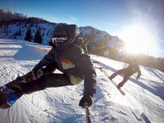 A lightweight pov pole is all you need for vibrant action shots! Technology Gadgets, Electronics Gadgets, Tech Gadgets, Snowboarding, Skiing, Gopro Hero, New Perspective, Cool Gadgets, Shots