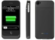 Amazon.com: BOOST Case - Protective Case & Extended Battery for iPhone 4 4S (Fits All Models iPhone 4S /4): Cell Phones & Accessories