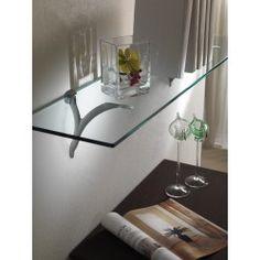 Support d'étagère série Sansone pour verre