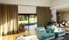 window treatments sliding glass doors Spaces Beach with bedroom ...